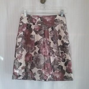 🌞 RW & Co Women's lined cotton Skirt. Size 2